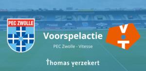 Voorspelactie PEC Zwolle